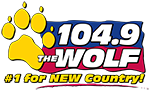 104.9 The Wolf - #1 for New Country!